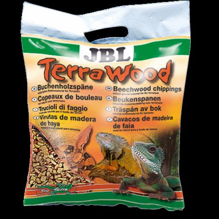 JBL TerraWood natūralus buko drožlių pakratas terariumams
