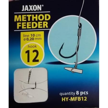 """Kabliukai su pavadėliais """"Jaxon, method feeder"""""""