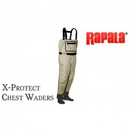 """Kvėpuojančios bridkelnės """"Rapala ProWear X-Protect Chest Waders"""""""