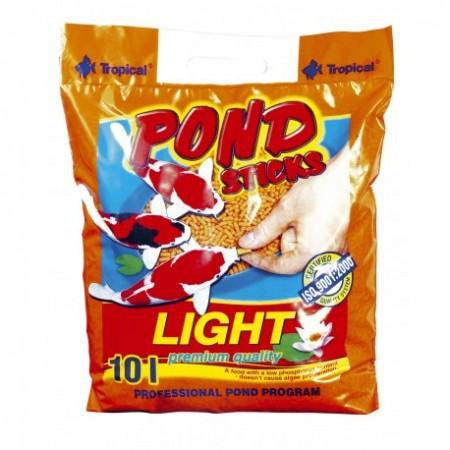 Tropical Pond Sticks Light pašaras Koi karpiams lazdelėmis 10 l