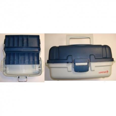 Žvejybinė dėžė Luxfish 2 stalčiai