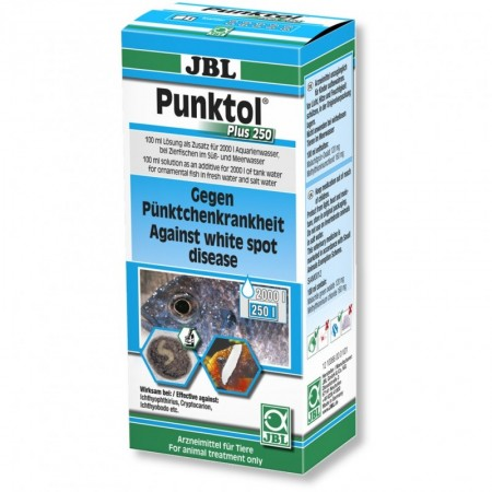 JBL Punktol Plus 250 priemonė prieš ichtioftiriozę 100 ml