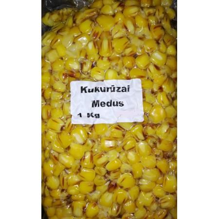 Šutinti kukurūzai Medus, 1kg