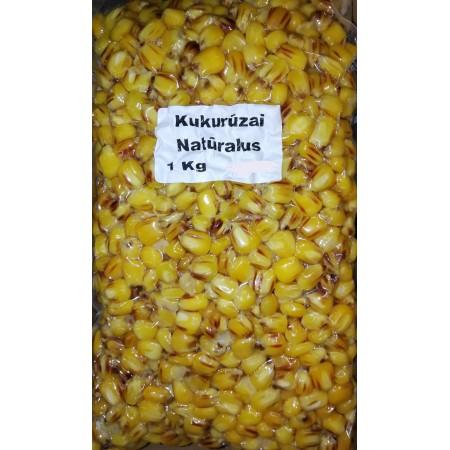 Šutinti kukurūzai Natūralus, 1kg