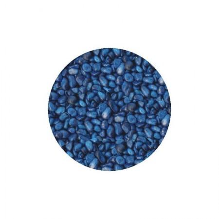 Gruntas akvariumui mėlynas 5-8mm 1kg