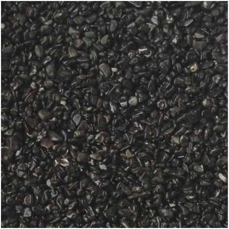 Gruntas akvariumui juodas 3-5mm, 5 kg
