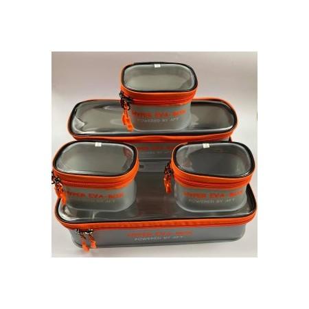 5 EVA dėžučių su dangteliais rinkinys