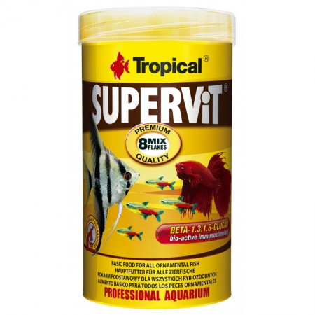 Tropical Supervit pašaras su Beta-gliukanu žuvims