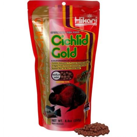 Padidinti Hikari Cichlid Gold Medium pašaras žuvims