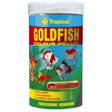 Tropical Goldfish Colour Pellet pašaras auksinėms žuvelėms