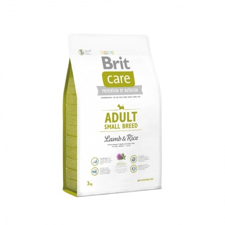 Brit Care Adult Small Breed Lamb&Rise sausas pašaras šunims