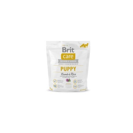 Brit Care Puppy Lamb&Rise visų veislių jauniems šuniukams
