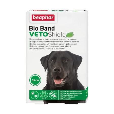 Beaphar Bio Band antiparazitinis šunų antkaklis, 65 cm