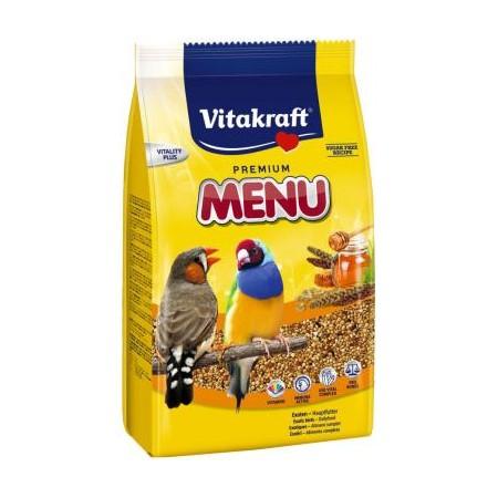 Vitakraft Premium Menu egzotiškų paukščių lesalas, 500 g