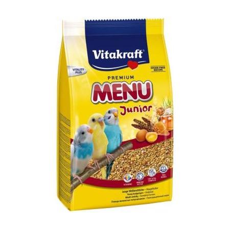 Vitakraft Premium Menu Junior lesalas banguotųjų papūgų jaunikliams iki 1 m., 500 g