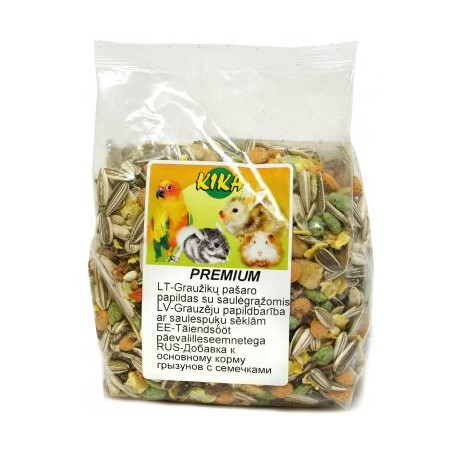Kika Premium graužikų pašaro papildas su saulėgrąžomis, 400 g