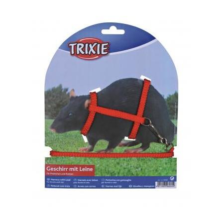 Trixie Žiurkių petnešos ir pavadėlis, 1,25 m