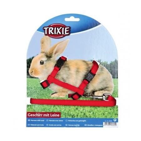 Trixie Triušių petnešos su pavadėliu, 1,25 m