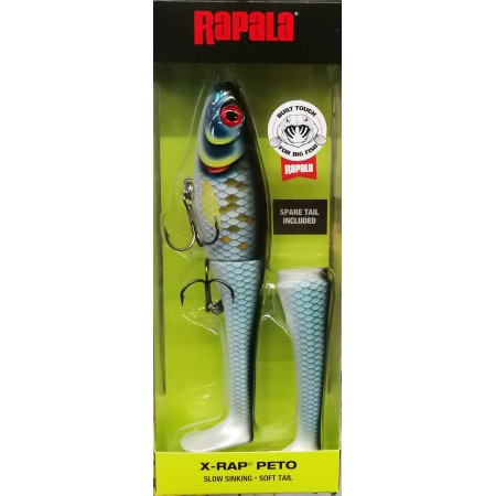 Vobleris Rapala X-RAP PETO, Scaled Baitfish
